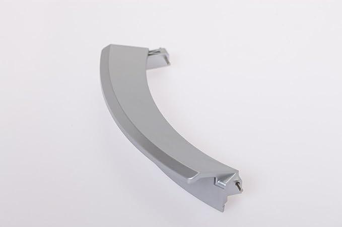 daniplus Puerta Tirador, Plata mate para Bosch Siemens Lavadora ...