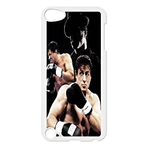 T-TGL(RQ) Personalized Rocky Balboa Pattern Protective Hard Case for Ipod Touch 5