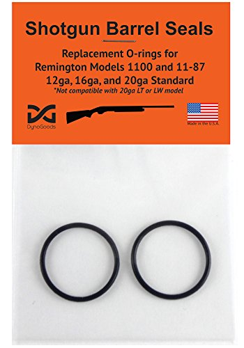 Shotgun Barrel Seals for Remington 1100 or 11-87 12ga, O-ring 2 (Remington Shotgun Parts)