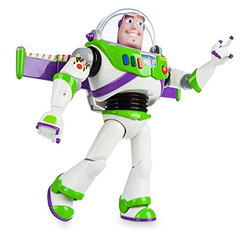 """Disney Store Buzz Lightyear Interactive Talking Action Figure from Toy Story, 30cm/11"""", Features 10+ English Phrases…"""