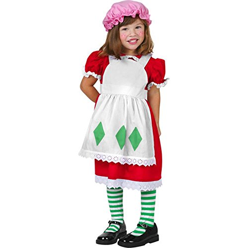 BOS Toddler Strawberry Costume Size: Toddler 2-4T -