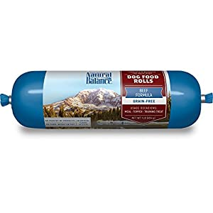 Natural Balance Beef Formula Dog Food Roll, 1 lb