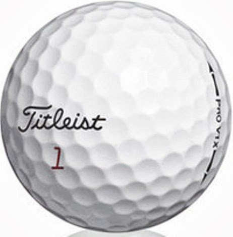 Titleist Pro V1 X AAA Recycled Used Golf Balls, 50-Pack