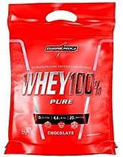 Whey 100% Pure Refil Chocolate, IntegralMedica, 907g