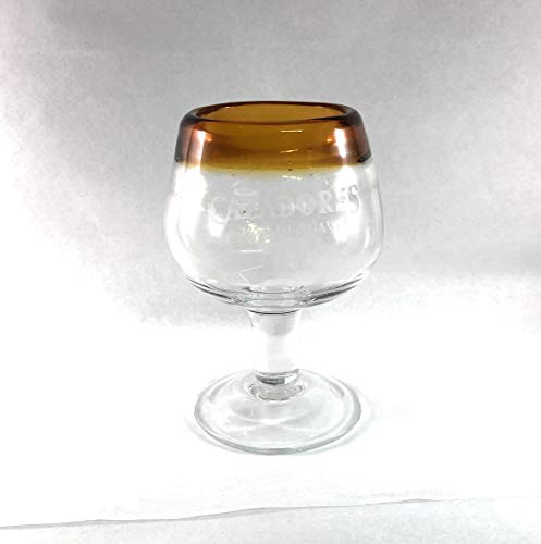 Cazadores Tequila Mini Snifter Glass (Tequila Snifter Glasses)