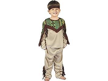 DISONIL Disfraz Indio para Bebé Talla S: Amazon.es: Juguetes y juegos