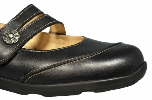 FinnComfort VIVERO 2353014099 Damen Slipper, Schwarz 36,5 EU
