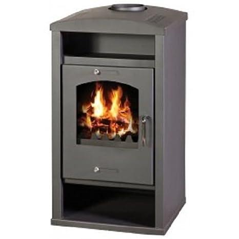 Estufa de leña chimenea quemador Log moderna estufa para madera, 11,5 KW: Amazon.es: Bricolaje y herramientas