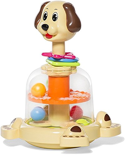 MooToys 'Doggy spinner' Push and spin Dog, Help Develops your baby's Fine motor skills (MT-104) by MooToys (Image #2)