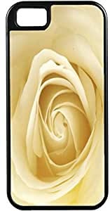 Blueberry Design iPhone 4 iPhone 4S Case Beige Roses Flowers Design - Ideal Gift by supermalls
