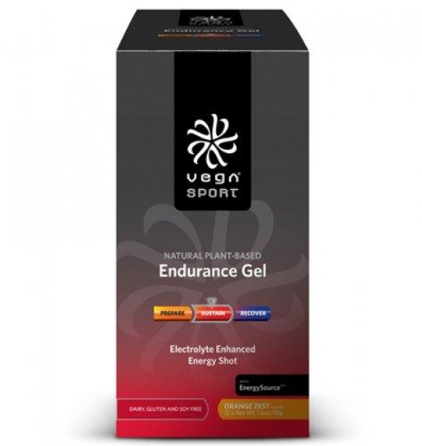 Vega Sport Endurance Gel - Orange Zest - 12 - Packets