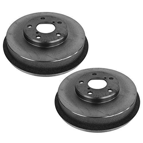 (Brake Drum Rear LH Left RH Right Pair Set for Subaru Forester Impreza )
