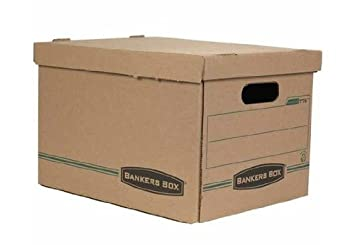 Bankers Basic-Duty 100% Recycled Letter/Legal File Storage Boxes Pack of  sc 1 st  Amazon UK & Bankers Basic-Duty 100% Recycled Letter/Legal File Storage Boxes ...