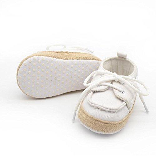 Kleinkind Schuhe,Chshe Baby - Junge Mädchen Weichen Sohle Sneaker Kleinkind Schuhe Weiß