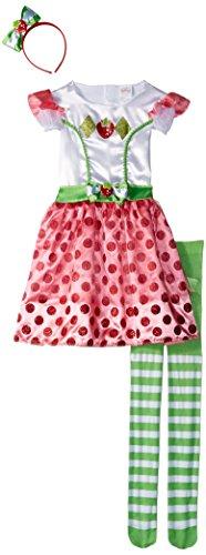 Classic Strawberry Shortcake Iconix Costume, Small/4-6X ()