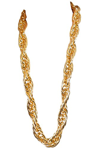 (Arsimus Heavy 40-Inch Gold Pimp Rapper Chain)