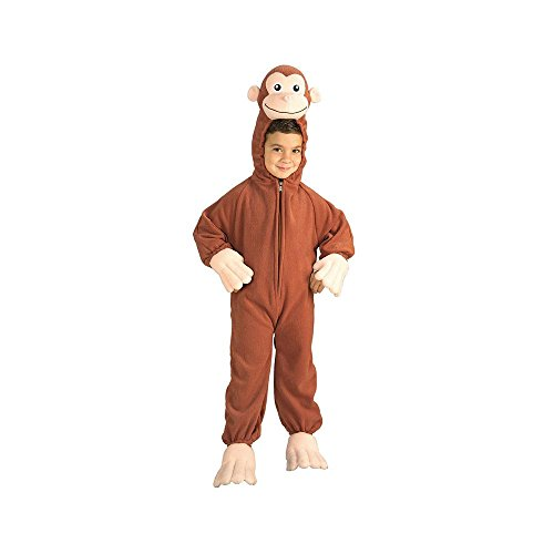 Curious George Fleece Toddler Costume 2T-4T (Curious George Costume For Baby)
