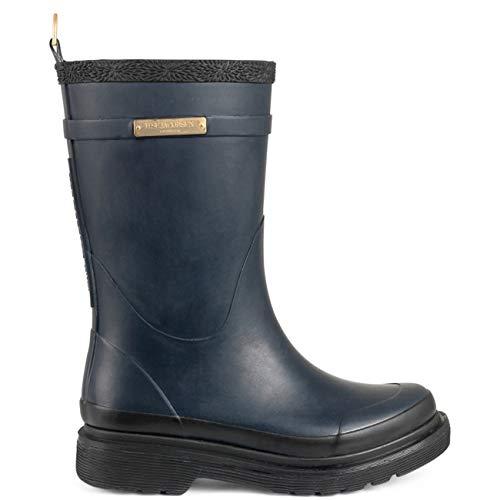 Rub300 Women's Wellington Hoch Boots Blue JACOBSEN Damen Dunkelindigo ILSE 660 Gummistiefel O5TXq5a