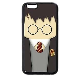UniqueBox - Customized Personalized Black Soft Rubber(TPU) iPhone 6+ Plus 5.5 Case, Harry Potter iPhone 6+ Plus 5.5 case, Harry Potter Hogwarts Marauders Map iPhone 6 Plus 5.5 case, Only fit iPhone 6 Plus 5.5