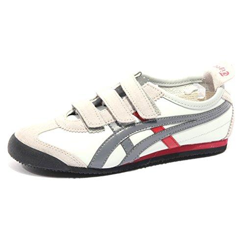 66 Kid Fucsia Mexico TIGER Bimba Grigio Sneaker Grigio Chiaro ONITSUKA Scuro Shoe B2472 CHaWq