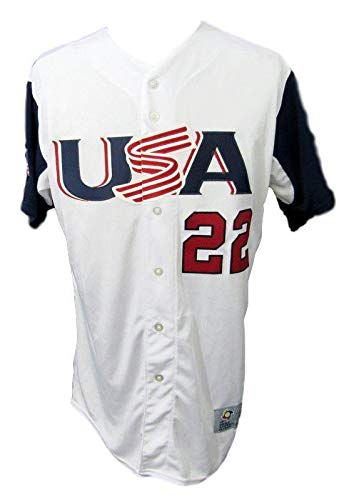 watch 1b6fe a8a04 Andrew McCutchen PHILLIES USA Team Signed White Jersey MLB ...