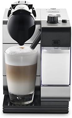 Nespresso by De Longhi EN520SL Lattissima Plus Espresso and Cappuccino Machine with Nespresso Capsule System, Silver