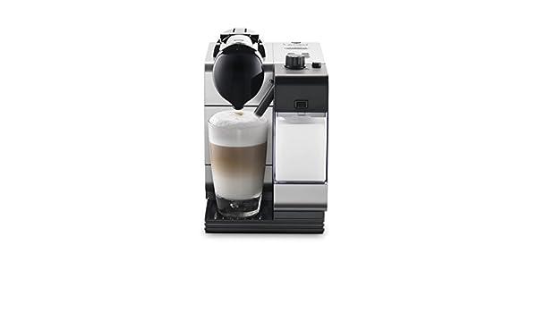 DeLonghi EN 520 Independiente Totalmente automática Máquina de café en cápsulas 0.9L 1tazas Negro, Plata - Cafetera (Independiente, Máquina de café en ...