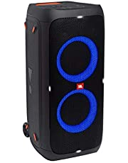 JBL Partybox310 Portable party speaker with dazzling lights and powerful JBL Pro Sound, Black