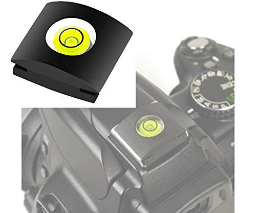 Nikon BS-1Coque Protection griffe flash + Niveau à bulle Compatible avec tous les appareil photo nikon Protection Hot Shoe Mount Flash Bubble Level Spirit chambre D850D7500D5600D3400D500D5D7200D810&nbs