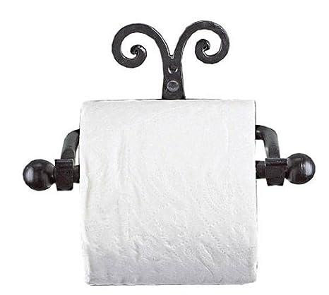 Amazon.com: Scroll papel higiénico titular, Park diseños ...