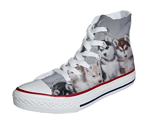 All Cuccioli personalizados Star Producto Customized Converse Husk zapatos Artesano OwAUqOd