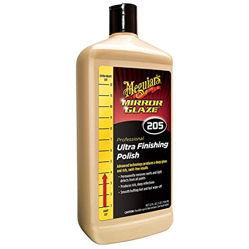 Finishes 105 (Meguiar's M20532 Mirror Glaze Ultra Finishing Polish, 32 Fluid Ounces, 1 Pack)