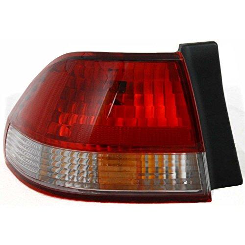 Tail Light for Honda Accord 01-02 Outer Assembly Sedan Left Side