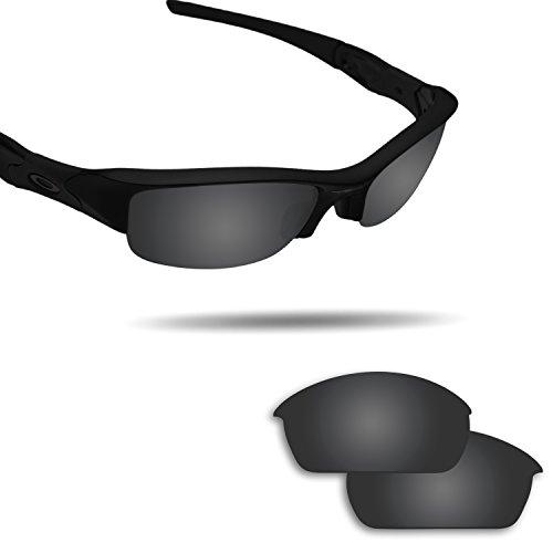 (Fiskr Anti-saltwater Replacement Lenses for Oakley Flak Jacket Sunglasses - Various Colors)
