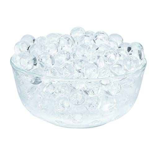 LOVOUS 3000 Pcs Water Beads, Crystal Soil Water Bead Gel, Wedding Decoration Vase Filler - Furniture Decorative Vase Filler, All Occasion Table Centerpiece Decorations (Transparent)