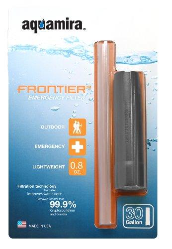 Aquamira Frontier Emergency Water Filter System, Outdoor Stuffs
