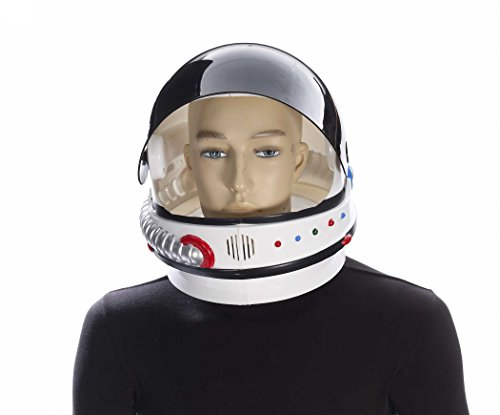 Forum Men's Novelty Deluxe Astronaut Helmet, Multi, One Size