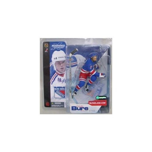 (McFarlane Toys NHL Sports Picks Series 3 Action Figure: Pavel Bure (New York Rangers) Blue Jersey VARIANT)
