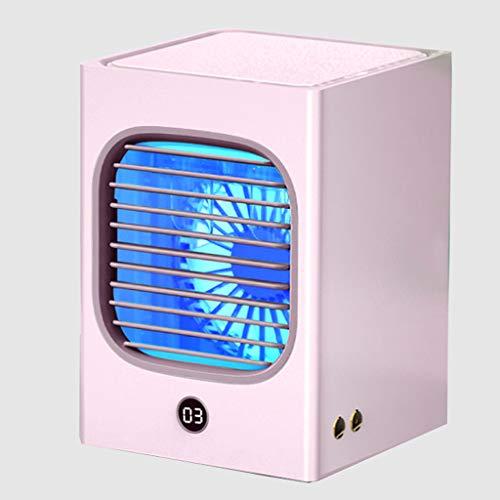 WXL Portable Cooler 3 in 1 Evaporative Coolers USB Coolers Purple Lamp Sterilization Three Speed Mute Digital Display…