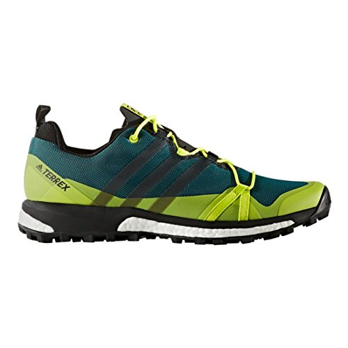 adidas outdoor hommes terrex agravic mystère vert / solar noir / semi - solar / jaune nous 10,5 d 2a619f