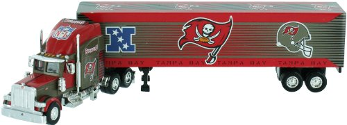 Tampa Bay Buccaneers 2004 NFL Limited Edition Die-Cast 1:80 Tractor-Trailer Semi Truck Collectible by Upper Deck