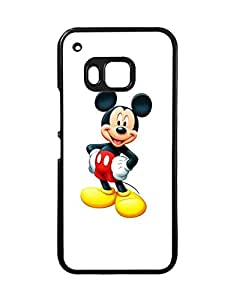Htc One M9 Fundas Case Disney Cartoon Theme for Women , Htc One M9 Phone Fundas CaseMicky Mouse - Protective Snap-On