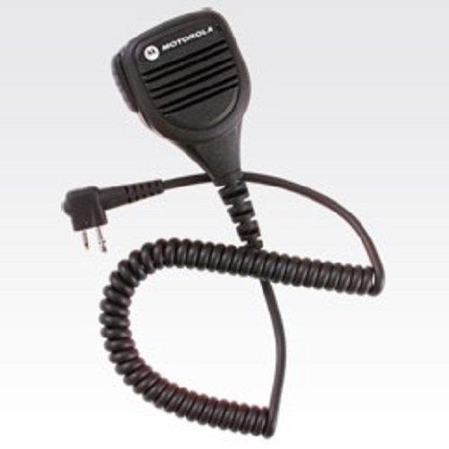 Motorola Original OEM PMMN4029A IP57 Submersible Intrinsic Safety (FM) Speaker Mic For Motorola 2 Pin Radios CP200 CP200D & More ()