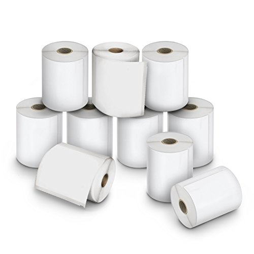 DYMO LW Extra-Large Shipping Labels for LabelWriter Label Printers, White, 4'' x 6'', 10 Rolls of 220 (2011999) by DYMO