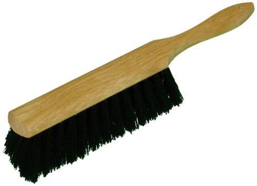 Polypropylene Counter Brush (Zephyr 40008 Black Polypropylene Wood Block Counter Brush, 8