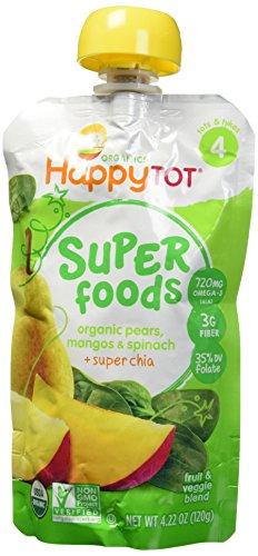 Happy Tots Spinach Mango Pear