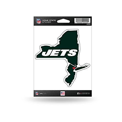 Rico Industries NFL New York Jets Home State Sticker