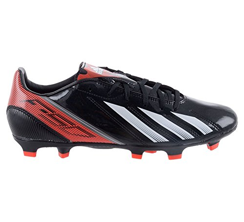 Adidas Mens F10 TRX FG Soccer Cleats Black/White/Infrared Q33869 Size 8.5 (Cleats Trx Fg F10)