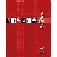 Clairefontaine - 3797C - 1 cahier musique & chant - 17 x 22 - 56 pages séyès
