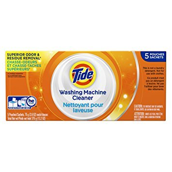 Tide Washing Machine Cleaner, 5 Count - Pack of 4 by Tide E